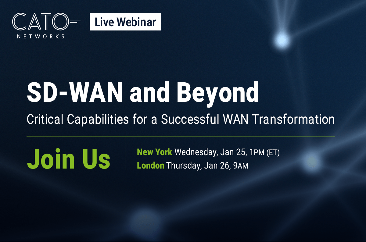 SD-WAN and Beyond: What to Consider in a WAN Transformation?