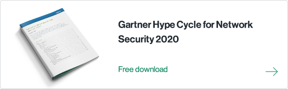 Gartner Hype Cycle for Network Security 2020 is out