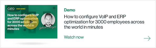 How to configure VoIP and ERP optimization for 3000 employees across the world in minutes